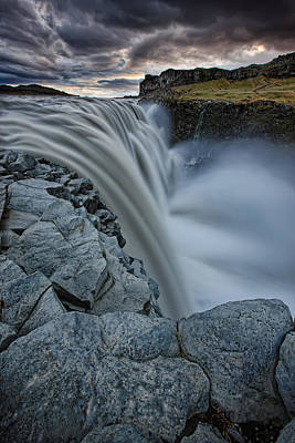 Dettifoss Photograph - Dettifoss, Europes Largest Waterfall by Robert Postma