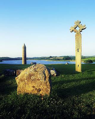 Devenish Island, Co Fermanagh, Ireland Art Print by The Irish Image Collection