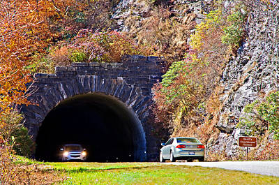 From The Kitchen - Devils Courthouse Tunnel by Susan Leggett