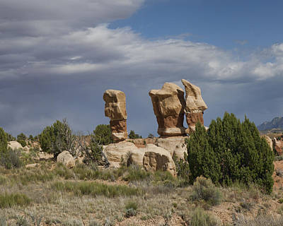 Page Photograph - Devils Garden Hoodoos Panorama 4 Of 4 by Gregory Scott