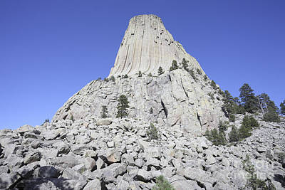 Devils Tower National Monument, Wyoming Art Print by Richard Roscoe