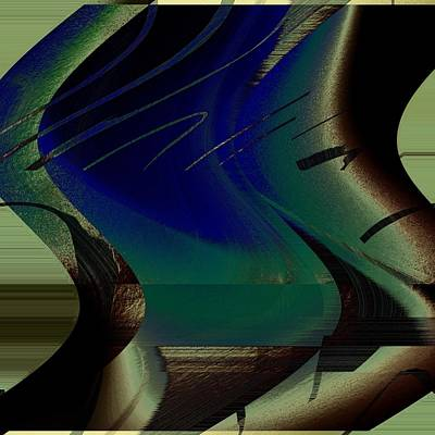 Devine Swirl Art Print by Yanni Theodorou
