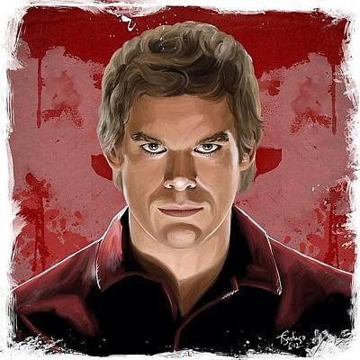 Portrait Photograph - Dexter by Tony Santiago