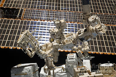 Dextre, The Canadian Space Agencys Art Print