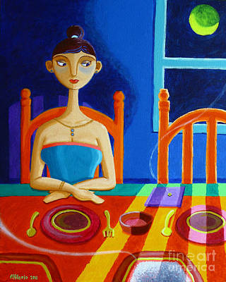Philippine Art Painting - 'di Parang Kaning Mainit by Paul Hilario