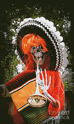 Mixed Media - Dia De Los Muertos 1 by Renee Trenholm