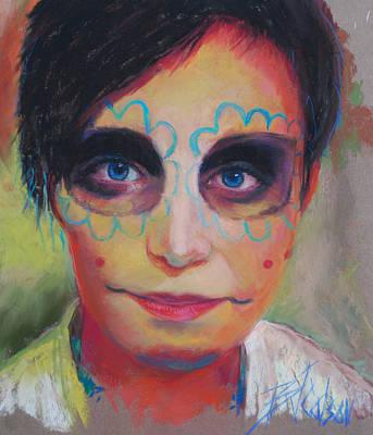 Saint-lo Painting - Dia De Los Muertos by Billie Colson
