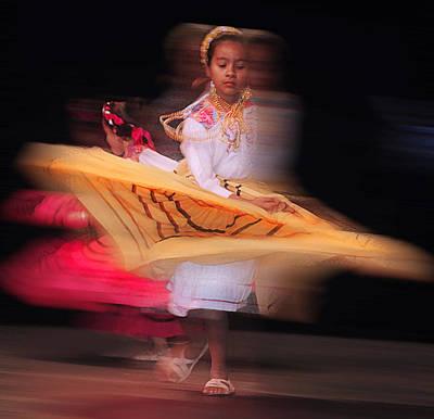 Mexican Dance Digital Art - Dia De Los Muertos Dancing by Jeff Burgess
