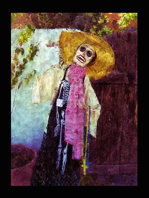 Calavera Digital Art - Dia De Los Muertos Old Mesilla by Kurt Van Wagner