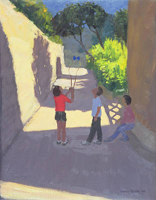 Summer Fun Painting - Diabolo France by Andrew Macara
