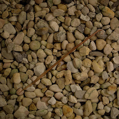 Photograph - Diagonal With Stones by David Coblitz