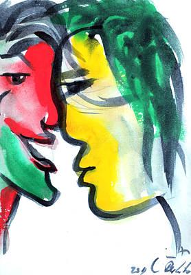 Dialogos 3 Art Print by Jorge Berlato