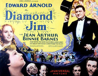 Diamond Jim, Edward Arnold, Jean Art Print by Everett