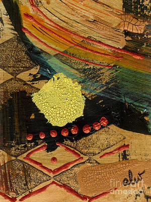 Mixed Media - Diamond Sand Storm by Angela L Walker
