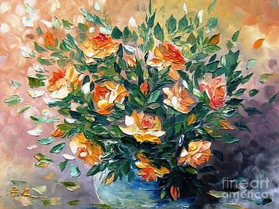 Diana S Roses Art Print