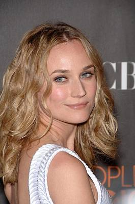 Nokia Theatre Photograph - Diane Kruger At Arrivals For Peoples by Everett