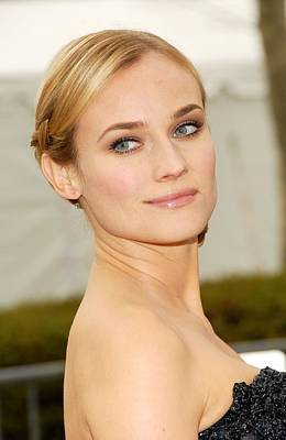 The Metropolitan Opera 125th Anniversary Gala Photograph - Diane Kruger At Arrivals For The by Everett