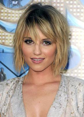 Dianna Agron At Arrivals For Glee The Art Print