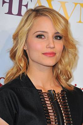 Dianna Agron In Attendance For 2nd Art Print