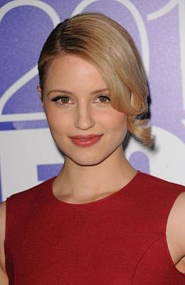 Dianna Agron In Attendance For Fox 2010 Art Print
