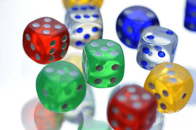 Photograph - Dice  by Nancy Greenland