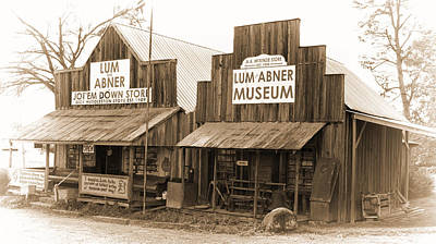 Dick Huddleston Store Est. 1909 Print by Douglas Barnard