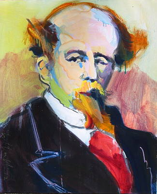 Painting - Dickens by Les Leffingwell