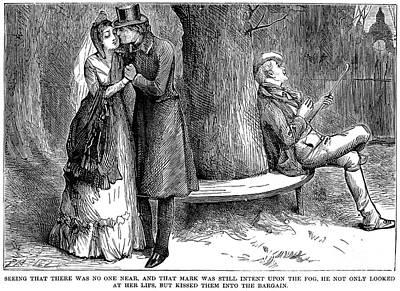 Dickens: Martin Chuzzlewit Art Print by Granger