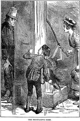 Dickens: Nicholas Nickelby Art Print by Granger
