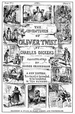 Novel Photograph - Dickens: Oliver Twist by Granger