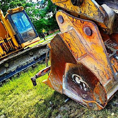 Machine Wall Art - Photograph - Did You Just Call Me A Digger ;-) by Jermaine Young