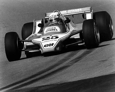 Didier Pironi Photograph - Didier In The New Section by Mike Flynn