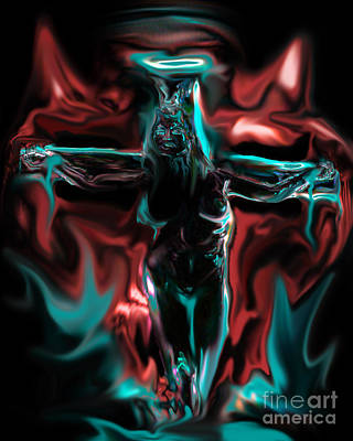 Painting - Die 4 Your Sins by Tbone Oliver