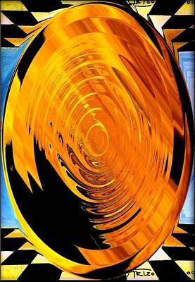 Die In T Time 1 Art Print by Arthur Thompson