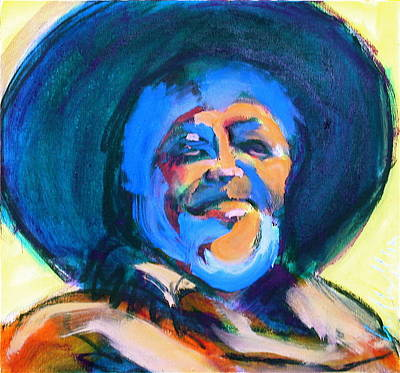 Painting - Diego by Les Leffingwell