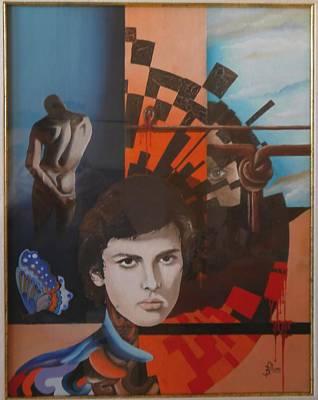 Volto Painting - Dietro Il Sipario.. by Marco Boschetti