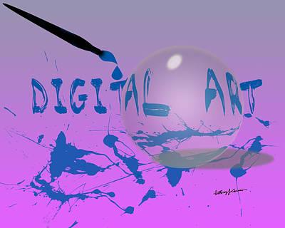 Digital Art Art Print by Anthony Caruso