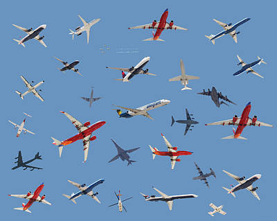 B1b Photograph - Digital  Images  Of  Aircraft  Over  Las Vegas Nv by Carl Deaville