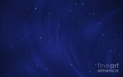 Constellation Digital Art - Digitally Generated Image Of Wind by Vlad Gerasimov