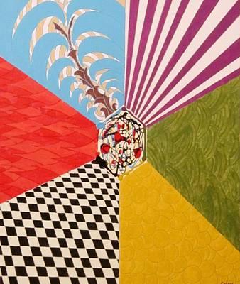 Painting - Dimensions by Jarunee Ward