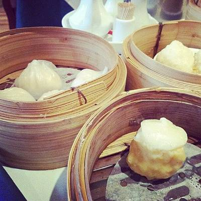 Restaurant Wall Art - Photograph - #dimsum #chinese #food #dinner New by Christelle Vaillant