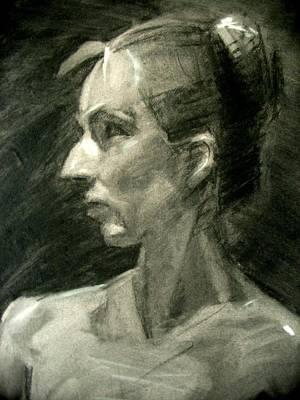 Drawing - Dina by Berto Ortega