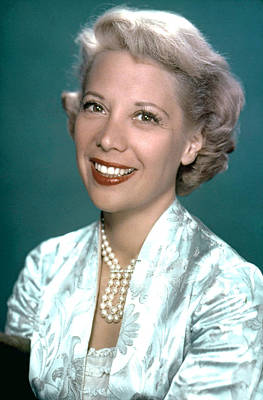 Dinah Shore, Ca. 1950s Art Print by Everett