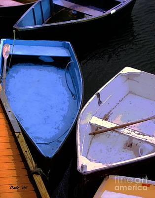 Digital Art - Dinghies by Dale   Ford