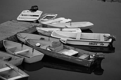 Lobstermen Photograph - Dinghies by David Rucker