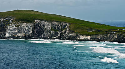 Photograph - Dingle Coastline by Edward Peterson