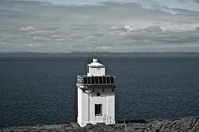Thomas Kinkade Rights Managed Images - Dingle Peninsula Lighthouse Ireland Royalty-Free Image by Douglas Barnett
