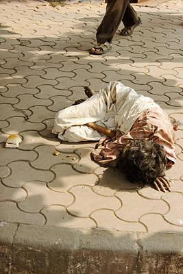 Teacake Photograph - Dining Alone Mumbai by Kantilal Patel
