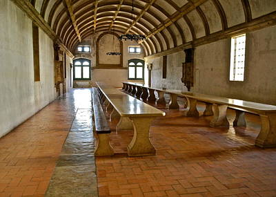 Photograph - Dining Hall In Monastery  by Kirsten Giving