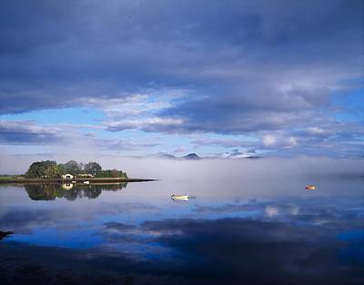 Boats In Reflecting Water Photograph - Dinish Island, Kenmare Bay, County by The Irish Image Collection